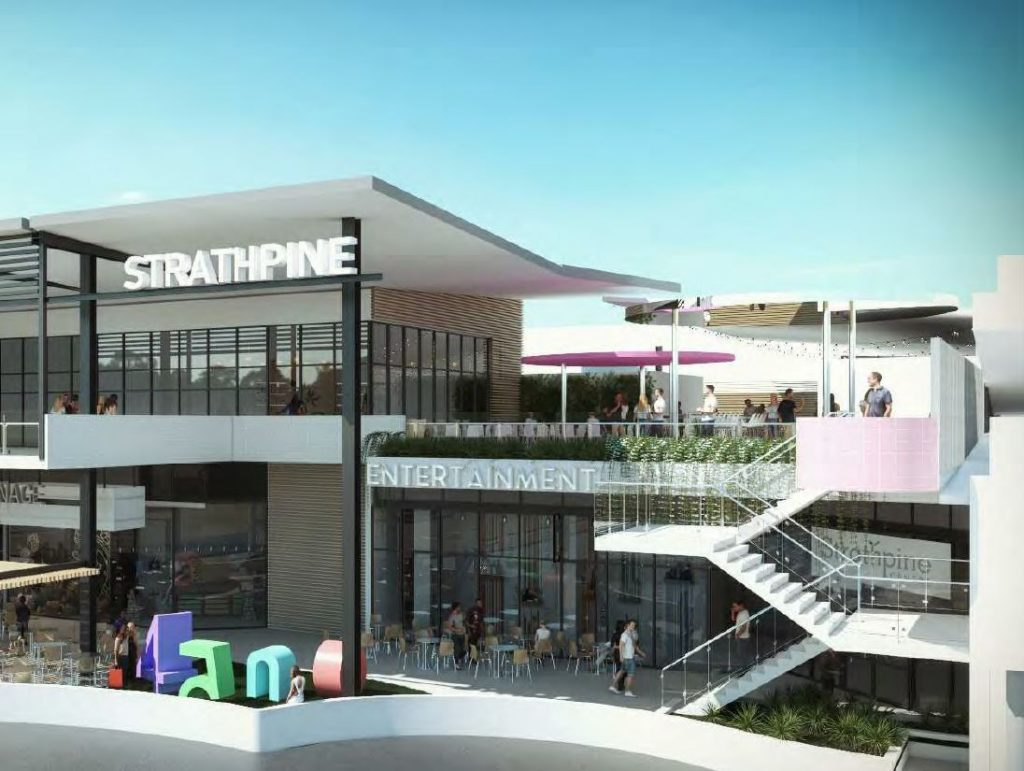 Childcare Centre, Dining & Entertainment Precinct – Strathpine Shopping Centre