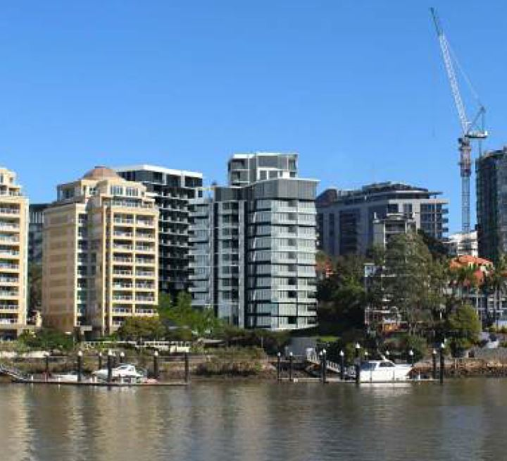 Three Residential Towers – Lambert Street & O'Connell Street, Kangaroo Point