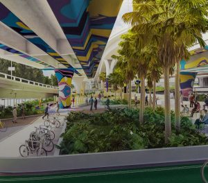 Public Space to Open 30 October – Waterline Park, $3.6 Billion Queen's Wharf, Brisbane City