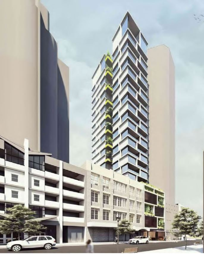 Narrow Residential Tower – Ann Street, Brisbane City
