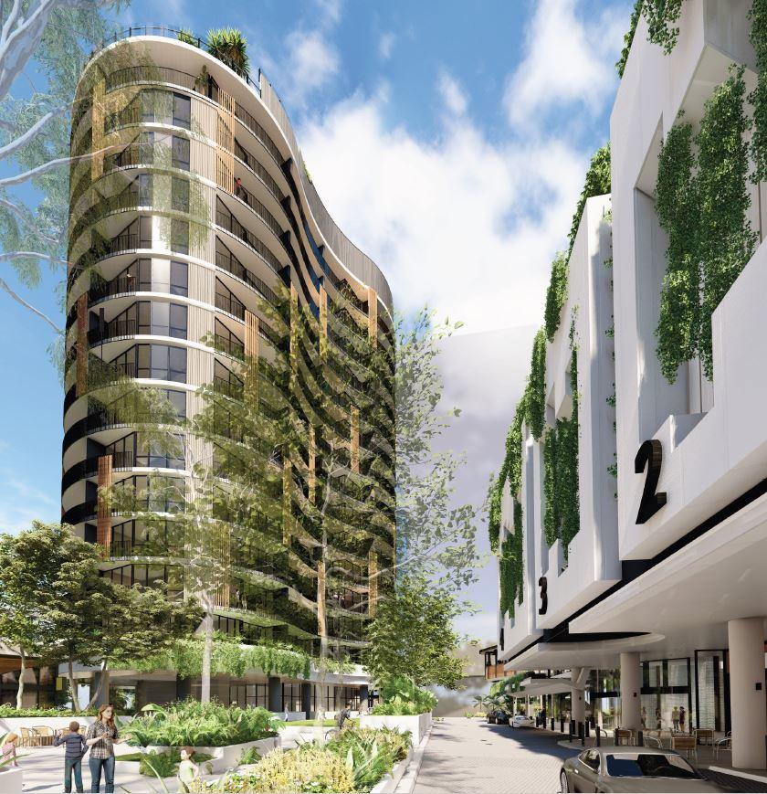 Residential Tower & Retail – South City Square (Stage 7), Woolloongabba
