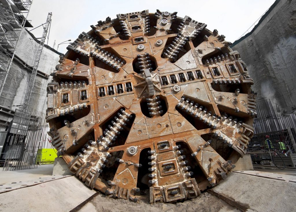 Tunnel Boring Machines Arrive – Cross River Rail, Brisbane
