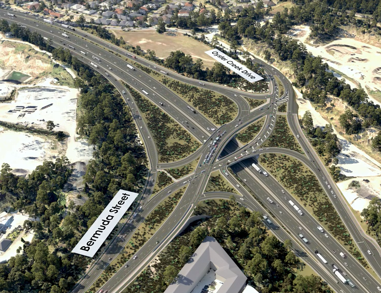 Construction Begins – $1 Billion Pacific Motorway Upgrade, Gold Coast