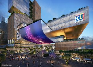 $695 Million ECU Campus – Perth City, Western Australia