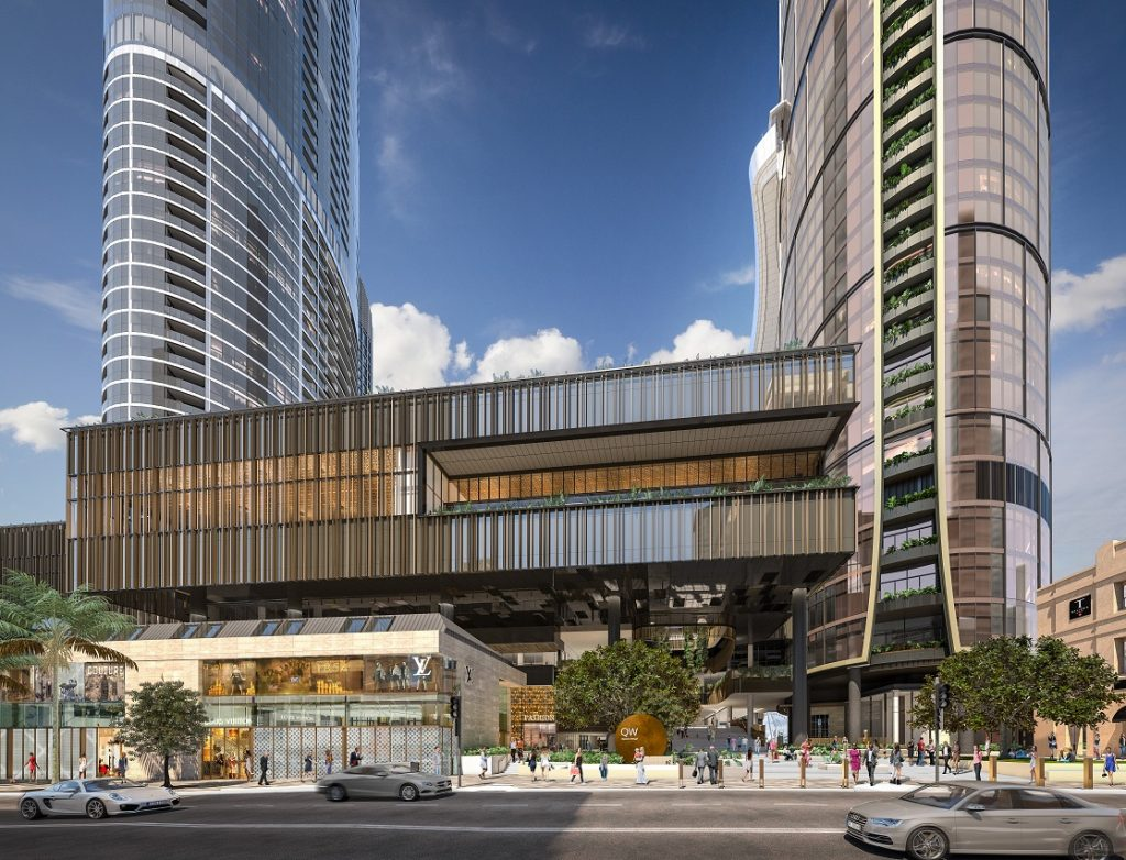 Luxury Retail Precinct – $3.6 Billion Queen's Wharf, Brisbane City