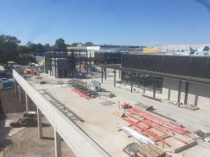 Construction continues – $35 Million Dining & Entertainment Precinct, Toombul Shopping Centre