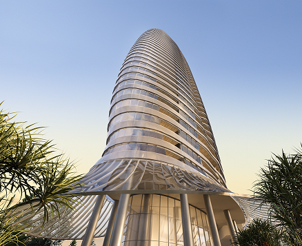 Unique Design for Luxury Residential Tower on the Gold Coast