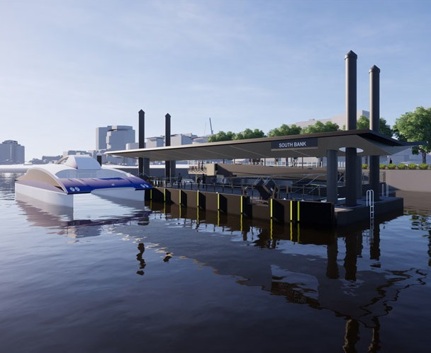 Ferry Terminal Upgrade – South Bank, Brisbane City