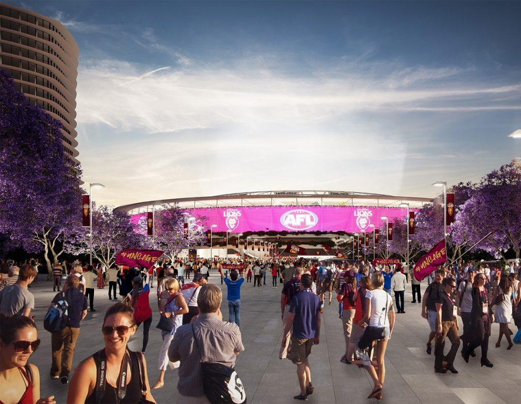 Gabba Rebuild for 2032 Olympics Main Stadium