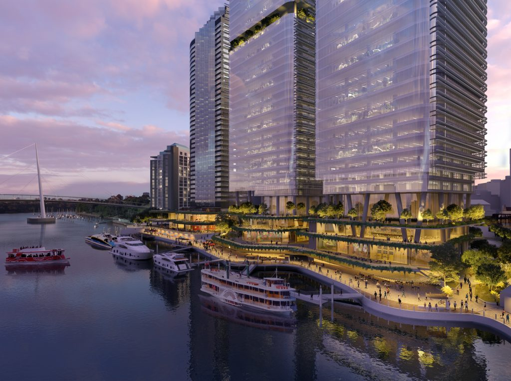 $2.1 Billion Waterfront Precinct – Eagle Street Pier, Brisbane City