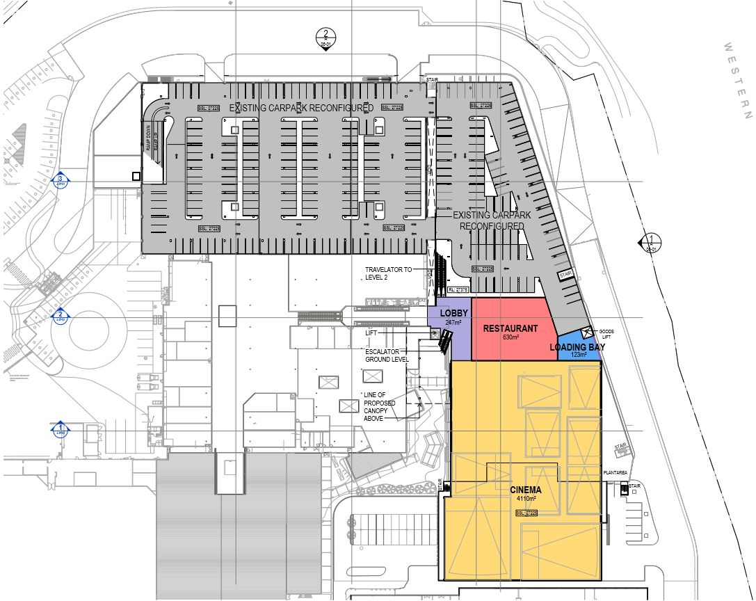 Mt Ommaney Shopping Centre Map Cinema, Dining & Entertainment Precinct   Mt Ommaney Shopping  Mt Ommaney Shopping Centre Map